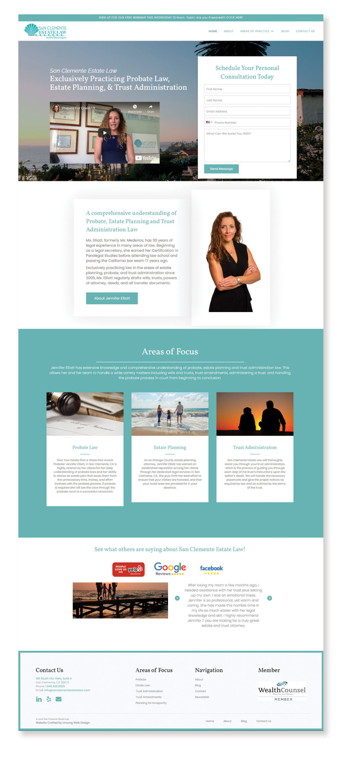 Unsung Web Design Case Study