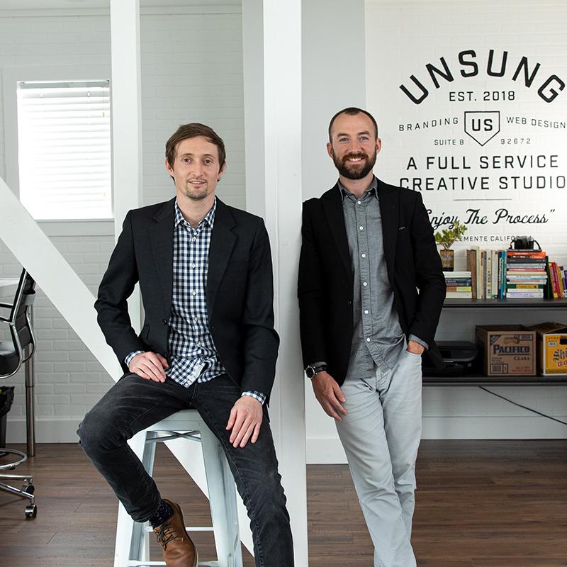 Andy Boice & William Scott of Unsung Studio